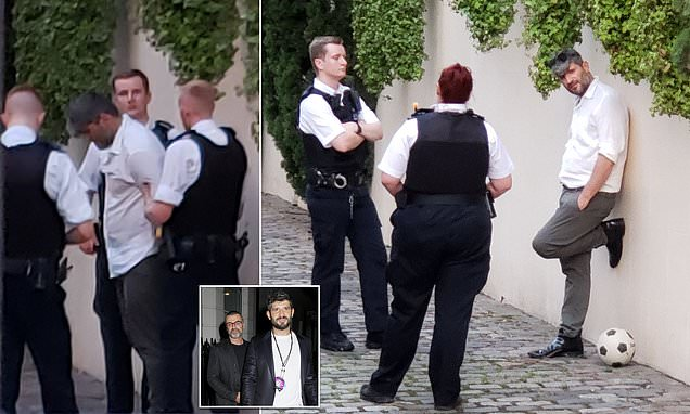George Michael's former lover Fadi Fawaz is arrested by police