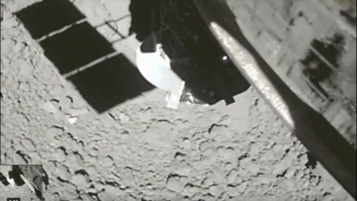Japanese space probe captures video showing touchdown on comet – KTVL