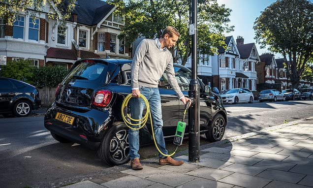 Government funding for electric car charging is to be doubled