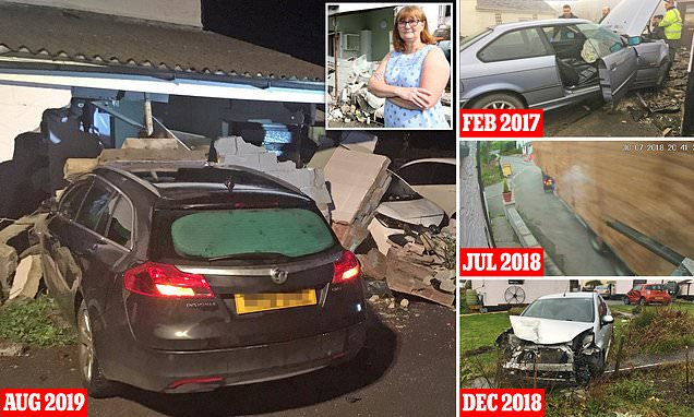 Devon family suffer 17th car smash into their home in last three years