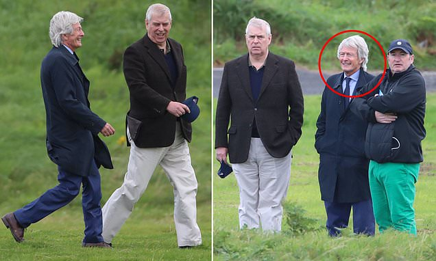 Prince Andrew is joined by celebrity 'reputation management' lawyer Paul Tweed