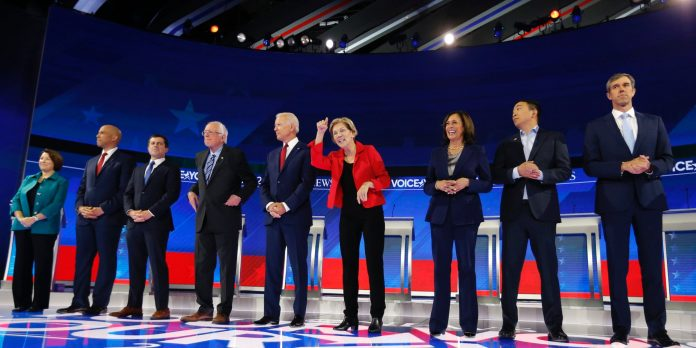 Here are the winners and losers of Thursday's fiery Democratic presidential debate