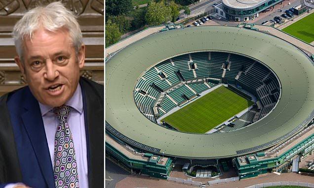 SEBASTIAN SHAKESPEARE John Bercow applied to All England Croquet and Lawn Tennis club