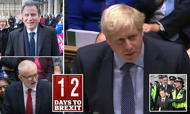 Remainers BLOCK Boris Johnson's crunch Brexit vote