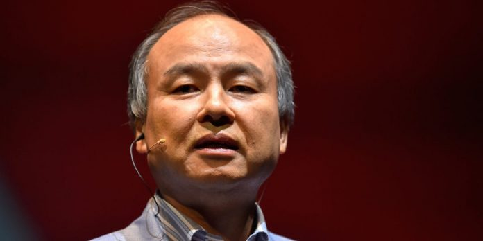 Watch as SoftBank CEO Masayoshi Son appears to doze off onstage – Business Insider