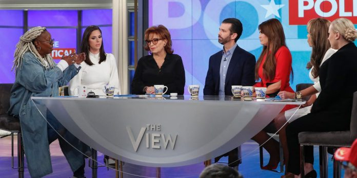 Donald Trump Jr. got the audience riled up at 'The View' – Business Insider