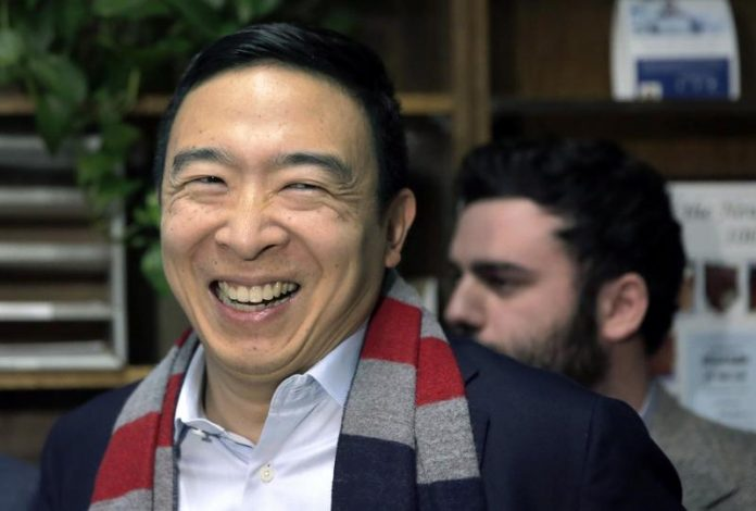 Andrew Yang's Plan to Regulate 'Big Tech' Is Tyranny