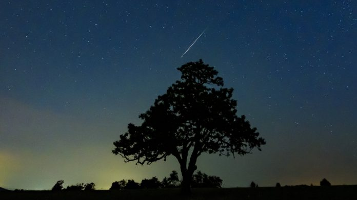 A Rare Meteor Shower May Grace The Skies Tonight – NPR