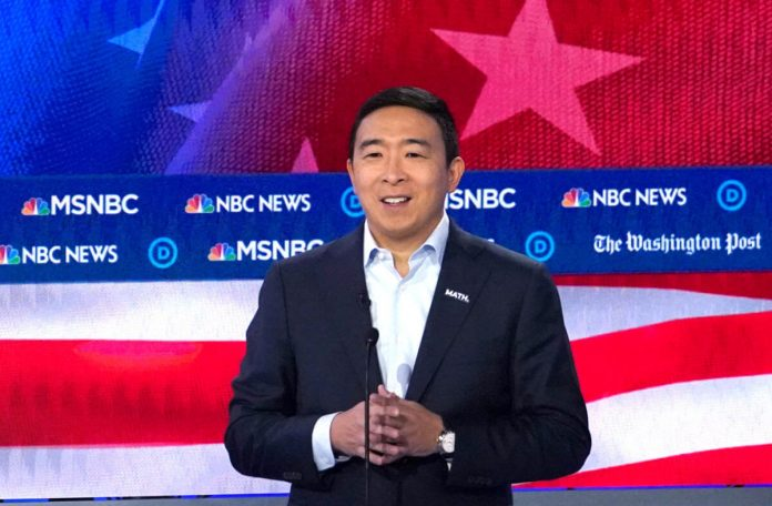 Why Tonight's Democratic Debate is Make-or-Break for Andrew Yang