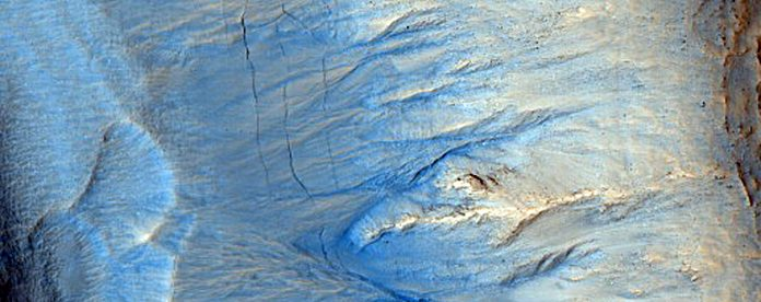 New Mars photos show how colorful the Red Planet can be – Chron