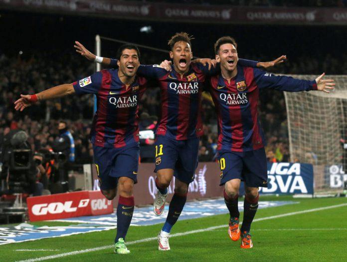 Barcelona a Mess. Griezmann a Bust. Neymar a Must.