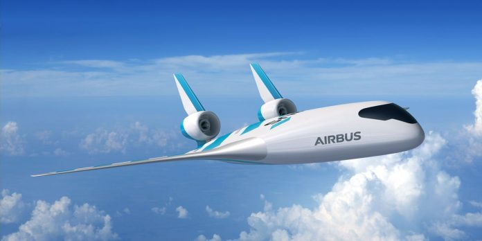 Airbus unveils futuristic new airplane prototype with one giant wing – Business Insider