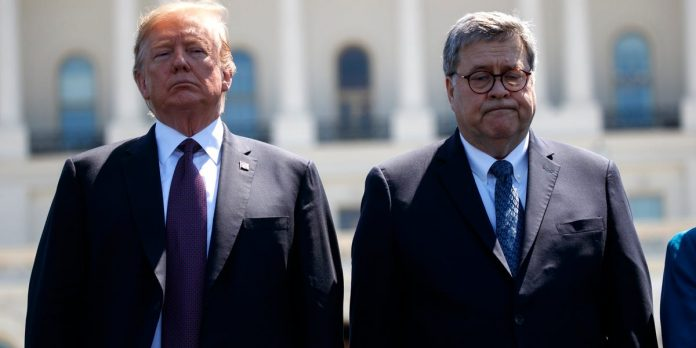 AG Barr says Trump isn't pressuring him despite caving to all demands – Business Insider