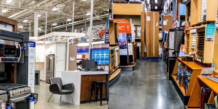 Photos comparing Lowe's and Home Depot show why Lowe's is better – Business Insider
