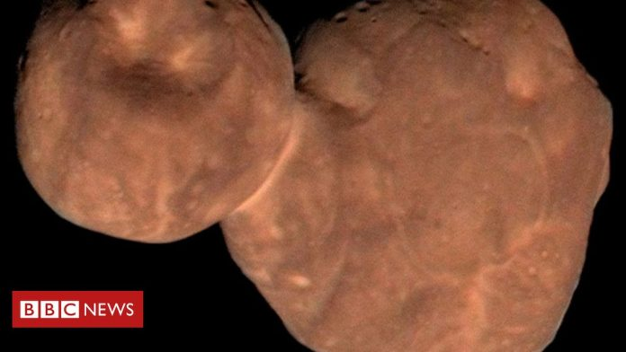 New Horizons spacecraft 'alters theory of planet formation' – BBC News