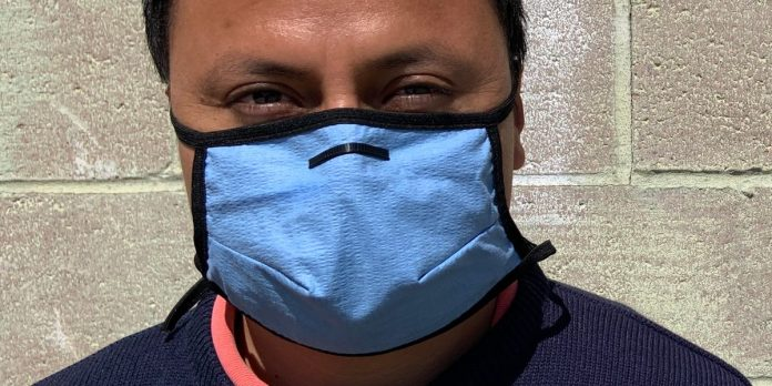 Homemade mask using hydro knit shop towel filters better – Business Insider