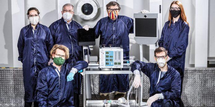 NASA designs cheap, simple coronavirus ventilator for mass production – Business Insider