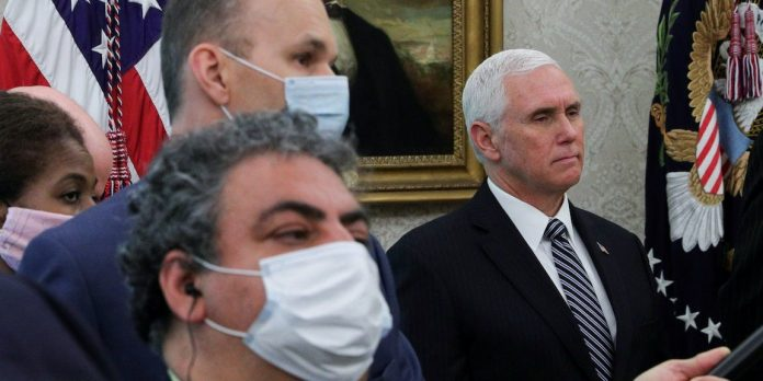 Pence told governors to use misleading claim to explain outbreaks: NYT – Business Insider