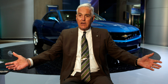 An auto industry legend questioned Tesla's eye watering stock rally, and said it has 'nothing to do with reality'