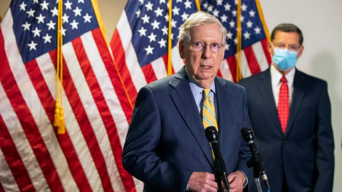 GOP Won't Agree to Further Stimulus Until the Stock Market Crashes