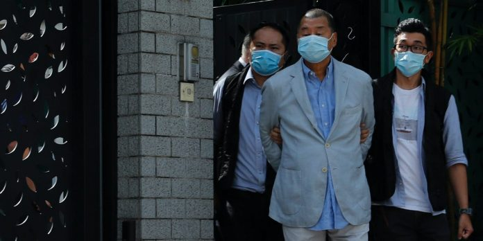 Hong Kong police arrest media tycoon Jimmy Lai under national security law – Business Insider