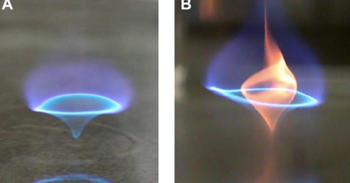 """Video: A mesmerizing """"blue whirl"""" could change the future of fossil fuels – Inverse"""
