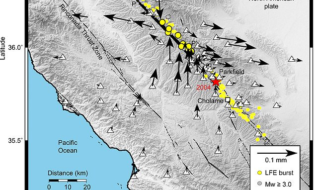 San Andreas Fault tremors are triggered by SUPERHEATED rocks, says – Daily Mail